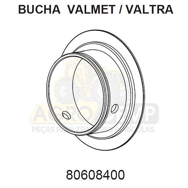 BUCHA DOS MANCAIS DIANTEIROS E TRASEIROS - VALTRA / VALMET 600 / 685C / 685F / 700 / 785C / 785F / 800 / 885 / 900 / 985 / BL77 / BL88 / BM85 / BM100 / BM110 / BM120 / BM125 (GERAÇÕES 1 E 2) - 80608400