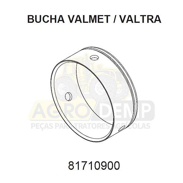 BUCHA DO SUPORTE DE MANCAIS CARDANS ZF APL 359 - VALTRA / VALMET BH140 / BH145 / BH160 / BH165 / BH180 / BH185 / BH205 / 1280R / 1580 / 1780 (GERAÇÕES 1,2 E HI) - 81710900