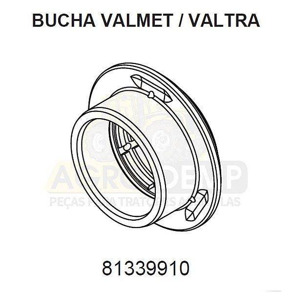 BUCHA ENGRENAGEM - VALTRA / VALMET BH140 / BH145 / BH160 / BH165 / BH180 / BH185 / BH205 / 1280 / 1580 / 1780 - 81339910