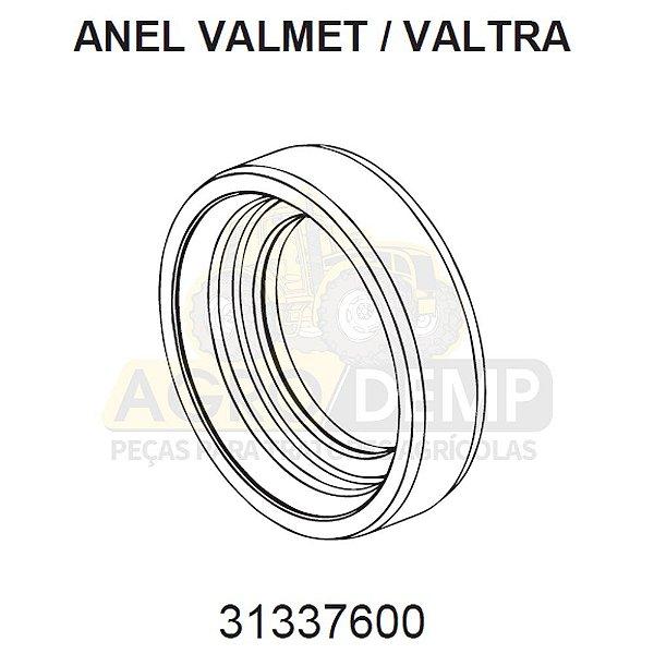 ANEL RETENTOR - VALTRA / VALMET BH140 / BH145 / BH160 / BH165 / BH180 / BH185 / BH205 / 1280R / 1580 E 1780 (GERAÇÕES 1, 2 E HI) - 31337600