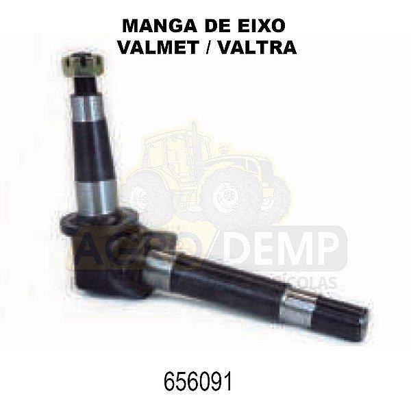 MANGA DE EIXO DIANTEIRO (AMBOS OS LADOS - DIREÇÃO HIDRÁULICA) - VALMET 85 E 86 - 656091