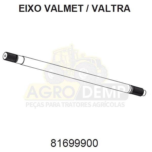 EIXO DE LIGAÇÃO - VALTRA / VALMET BH140 / BH145 / BH160 / BH165 / BH180 / BH185 / BH205 / 1280R / 1580 E 1780 (GERAÇÃO 1, 2 E HI) - 81699900