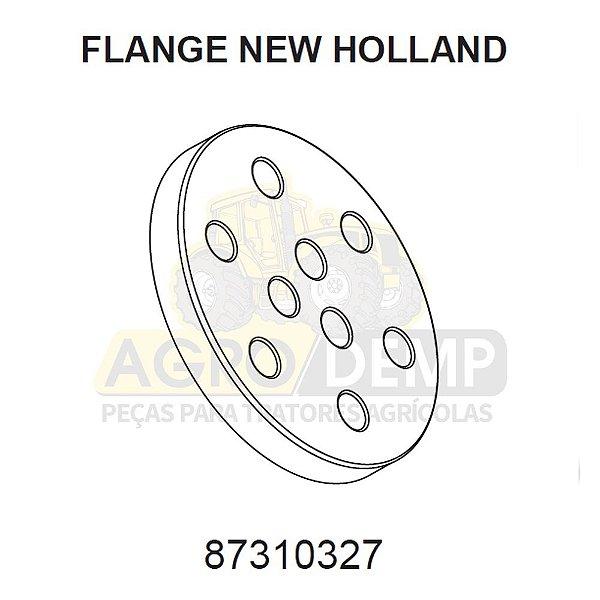 FLANGE PARA TRATORES PESADOS (INDUSTRIAIS) - NEW HOLLAND  W190B / W190C / W230C - 87310327
