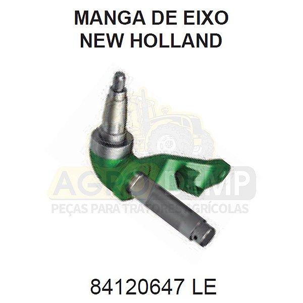 MANGA DE EIXO TRASEIRO LADO (ESQUERDO PARA COLHEITADEIRA) - FORD / NEW HOLLAND TC57 E TC5070 - 84120647