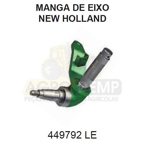 MANGA DE EIXO TRASEIRO LADO (ESQUERDO) PARA - FORD / NEW HOLLAND 8040 / 8055 / 8060 E 8070 (CEIFEIRA DEBULHADORA) / TC55 E TC57 (COLHEITADEIRA)  - 449792
