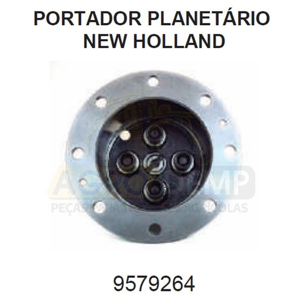 PORTADOR PLANETÁRIO - FORD / NEW HOLLAND 4630 / 5030 / 5630 / 6630 / 7630 / 7830 E 8030 - 9579264