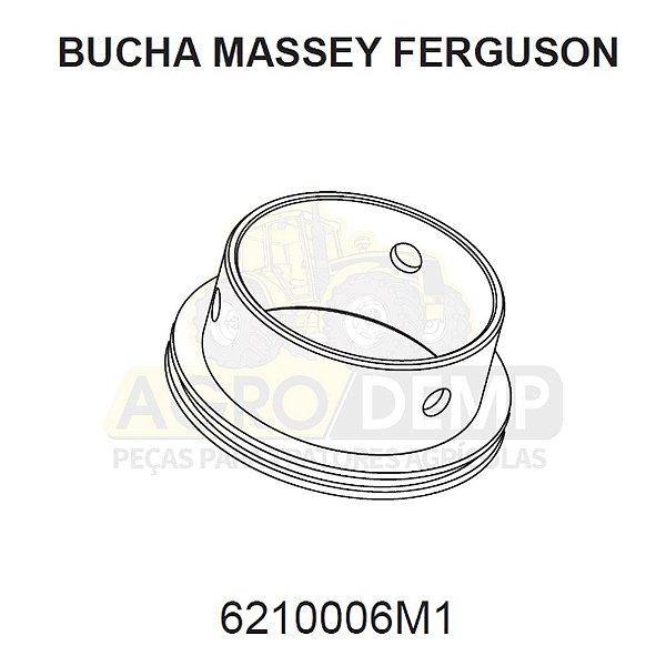 BUCHA CAVALETE DA CARCAÇA - MASSEY FERGUSON 265 / 275 / 283 / 290 / 292 / 295 / 297 / 299 / 620 / 630 E 640 - 6210006