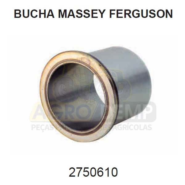 BUCHA DE AÇO (RETROESCAVADEIRA) - MASSEY FERGUSON 86 - 2750610