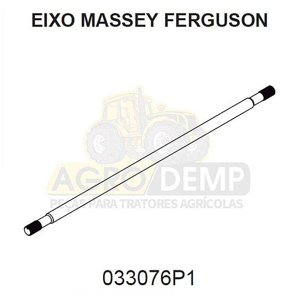 EIXO ACIONAMENTO DA TRAÇÃO - MASSEY FERGUSON 275 / 283 / 290 E 292 - 033076