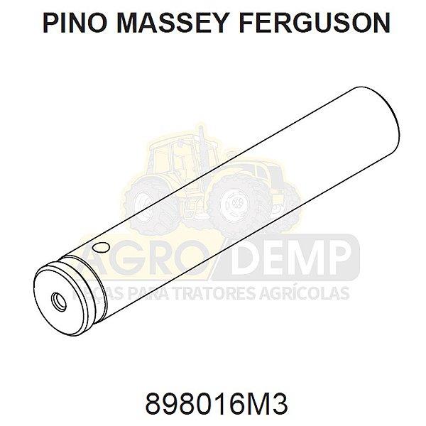 PINO CENTRAL DA BALANÇA DIANTEIRA - MASSEY FERGUSON 265 / 275 / 290 E 296 - 898016