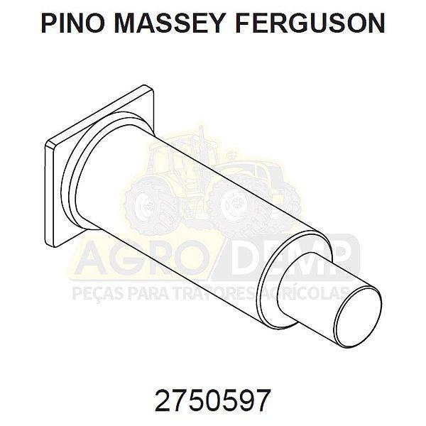 PINO DE AÇO PARA (RETROESCAVADEIRA) - MASSEY FERGUSON 86 - 2750597