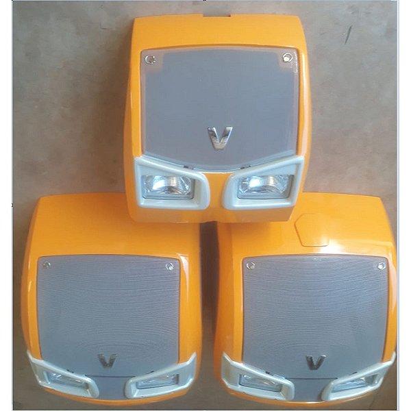 MASCARA FRONTAL DO RADIADOR COMPLETA (COM GRADE, EMBLEMA E FAROL VINCO) VALTRA BH145 / BH165 / BH180 G2 / BH185I / BH205I / 1280R G2 / 1780 G2 - 84109100