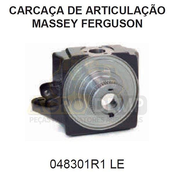 CARCAÇA DA ARTICULAÇÃO (LADO ESQUERDO APL359) - MASSEY FERGUSON 660 / 680 / MAXION 9170 - 048301