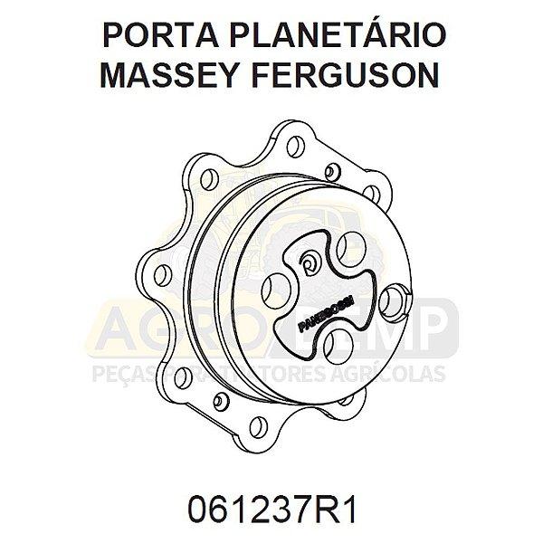 CUBO DA RODA DIANTEIRA (TRAÇÃO CARRARO) - MASSEY FERGUSON 275 - 061237