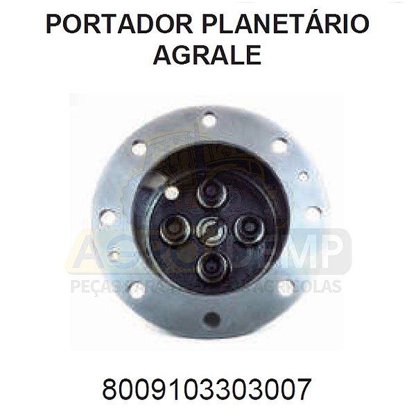 PORTADOR PLANETÁRIO DA (TRAÇÃO DIANTEIRA ZF APL350 / AS3050) - AGRALE BX4410 / BX4130 / BX6110 E BX6150 - 8009103303007