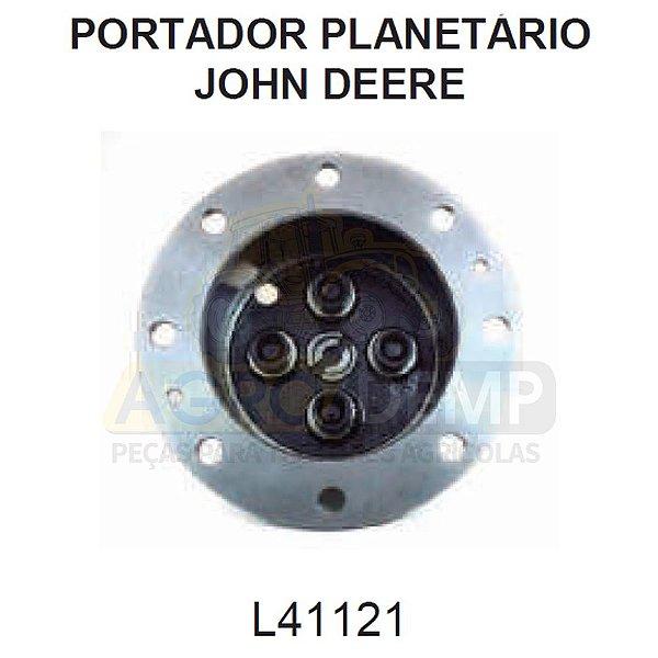 PORTA PLANETÁRIAS TRAÇÃO DIANTEIRA ZF APL 350/AS3050 (04 PINOS) - JOHN DEERE 6300 / 6405 / 6600 E 6605 - L41121