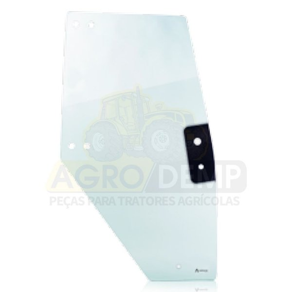 VIDRO (LADO DIREITO) - VALTRA BH145 / BH165 / BH180 / BH185 / BH205 / BM100 / BM110 / BM120 / BM125 E 1780 (GERAÇÃO 1 E 2) - 83862500