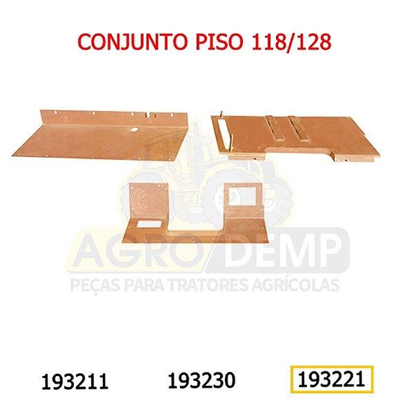 CHAPA DIANTEIRA PISO - VALTRA / VALMET 118 E 128 - 193221