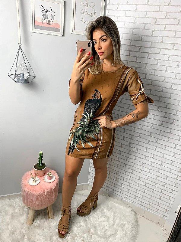 Vestido  arara