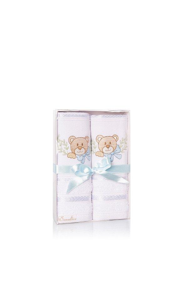 Kit Toalhas Infantil - Azul