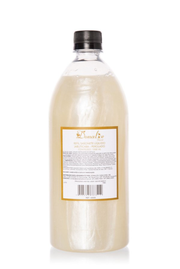 Refil Sabonete Líquido 1 Litro Perolado