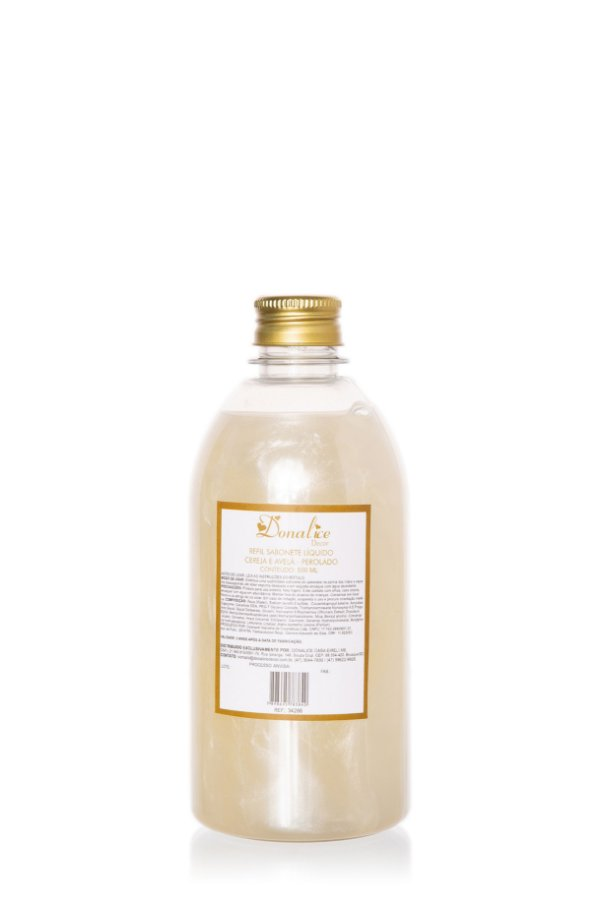 Refil Sabonete Líquido 500 ml Perolado