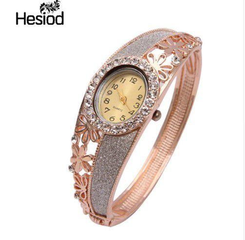 Relógio de Quartzo Feminino cristal