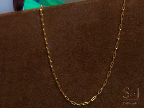 Cartier cadeado para homens 60 cm