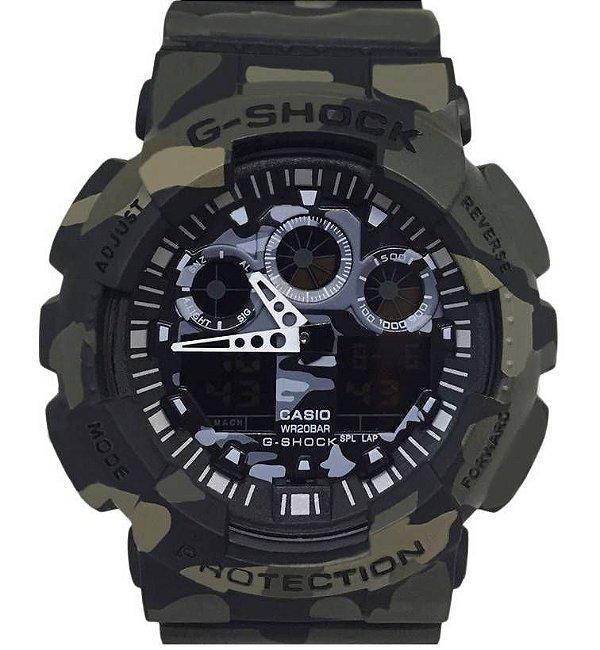 G-Shock GA-100CM-8A  MILITAR