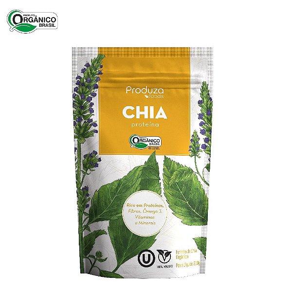 Proteína de Chia Ogânica - Farinha