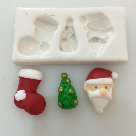 Molde Miniaturas de Natal 73