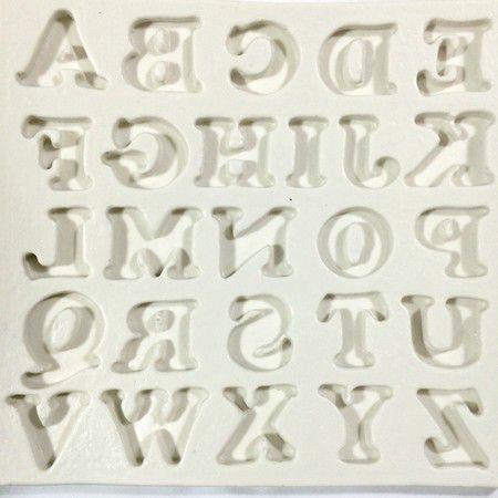 Molde Alfabeto GG 82