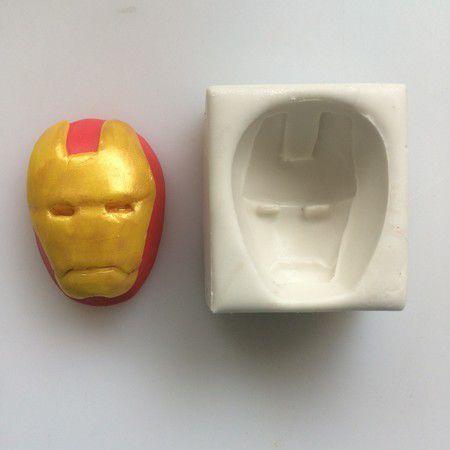 Molde Máscara Do Homem De Ferro 159