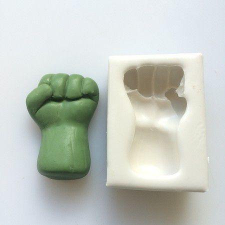 Molde Mão Do Hulk 0168