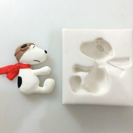 Molde Snoopy Aviador 0265
