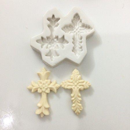 Molde duas cruzes 371