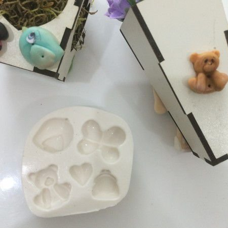 Molde de Mini Botões 378