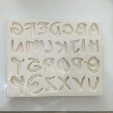 Molde Alfabeto 0394