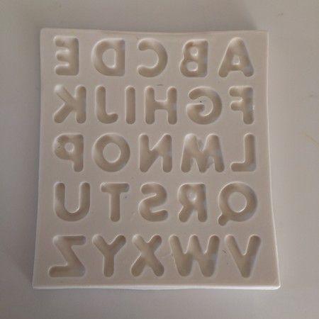 Molde Alfabeto Letra Maiuscula 430