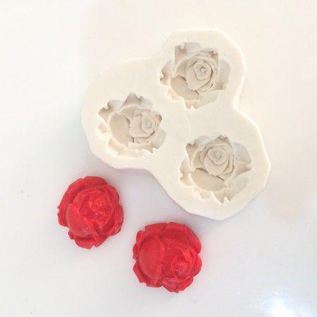 Molde Três Rosas 0439