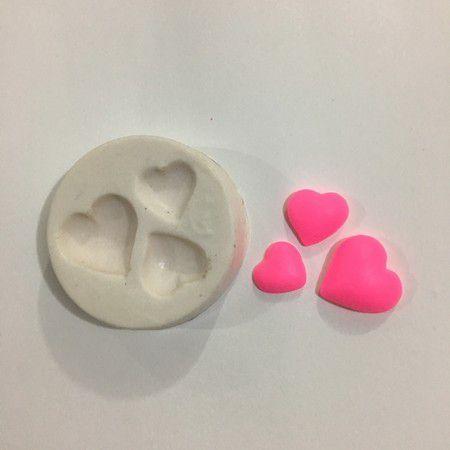 Molde três corações 0526