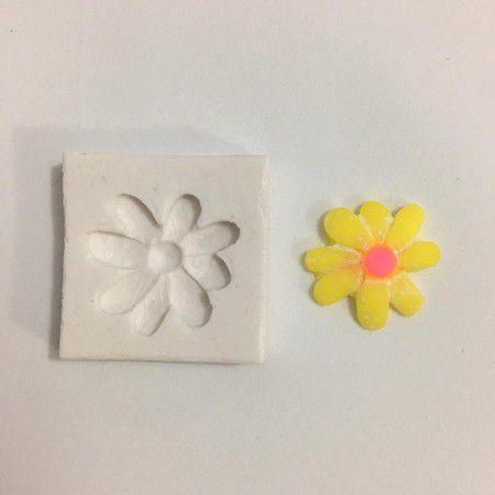 Molde flor patch 576