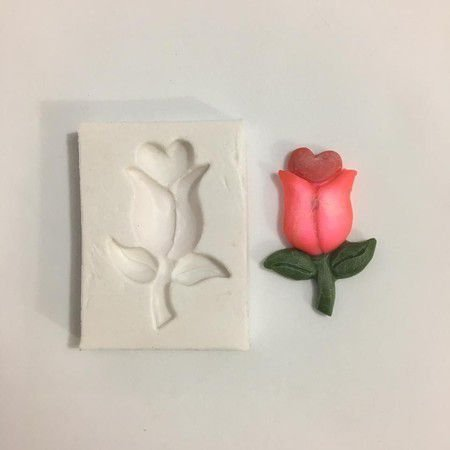 Molde Tulipa apaixonada 577