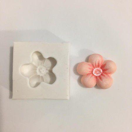 Molde Flor com botão 578