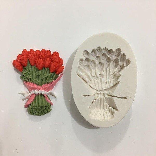 Molde Buquê de Flores 607