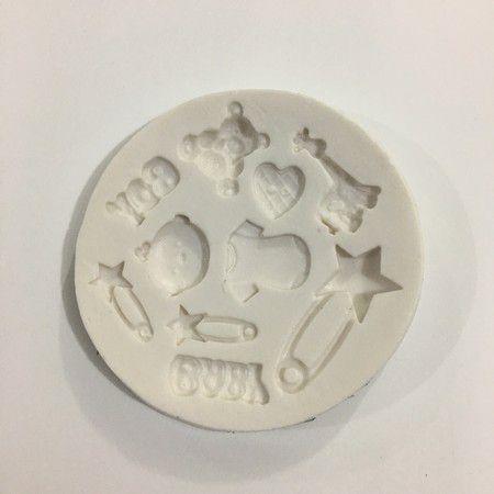 Molde Miniaturas bebê 610