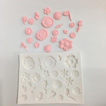 Molde Flores 694