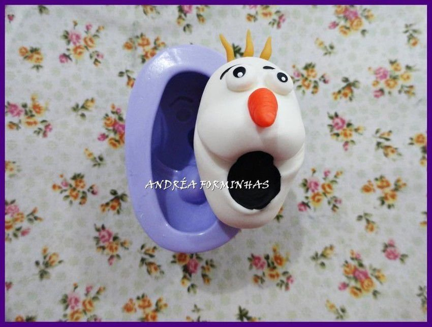 Molde cabeça Olaf 789