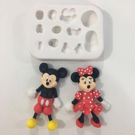 Molde Kit Mickey e Minnie P 886