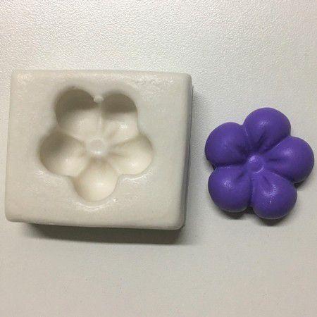Molde flor fofa 1000